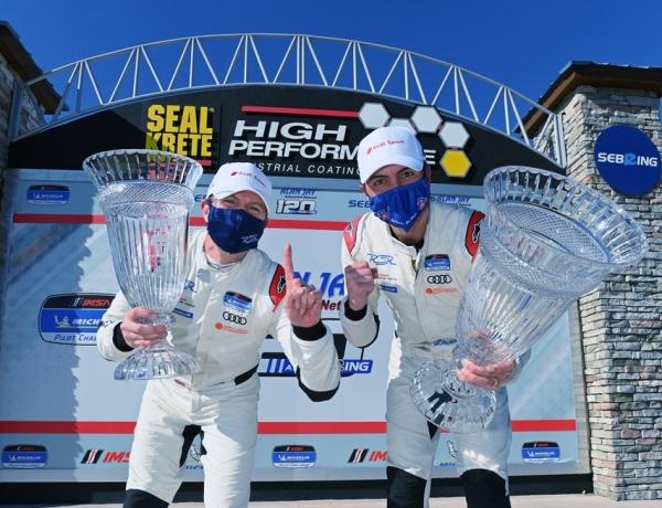 Gavin Ernstone and Jon Morley Sebring Win 2021